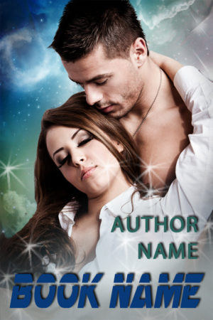 Sexy male vampire paranormal romance or thriller premade