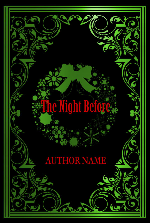 The Night Before Christmas Premade Book Cover