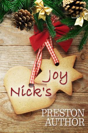 Nick's Joy Christmas premade book cover
