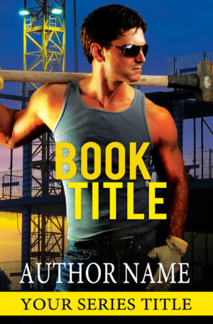 premade construction romance book cover