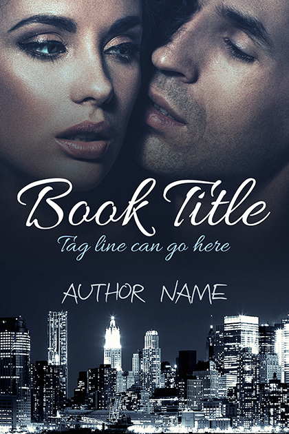 Sexy romantic couple for young or new adult romance premade cover