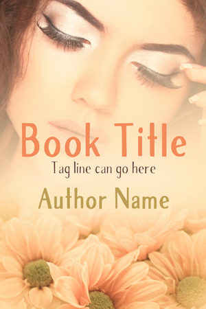 Sweet romance flowers premade book cover