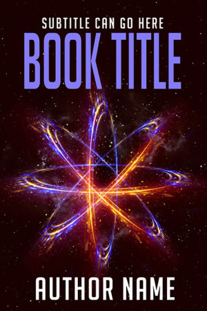 Abstract sci-fi premade book cover by Dani