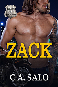 Zack Motorcycle Romance Book Cover