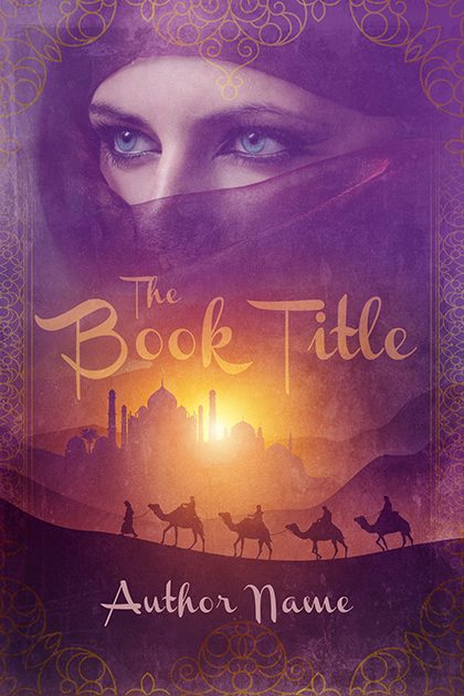 Sweet Arabian nights premade book cover 43