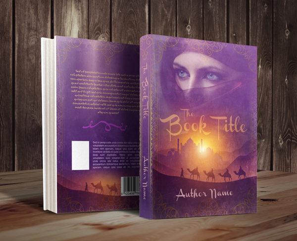 Sweet Arabian nights premade book cover promo 43