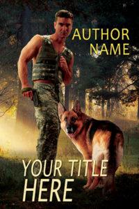 K9 military romance or romantic suspense premade ebook cover