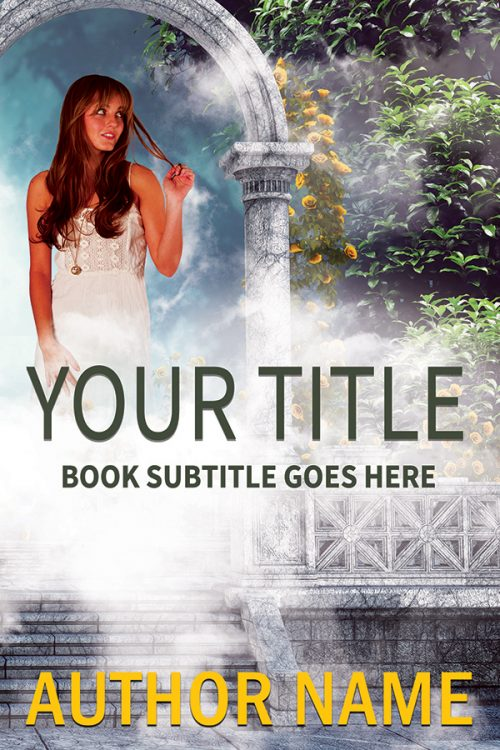 Sweet paranormal or fantasy romance premade book cover