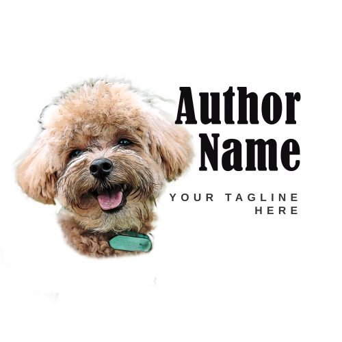 Canine cozy mystery premade author logo