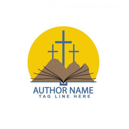 Christian or religious premade author logo