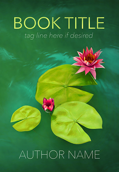 Lilypond romance or mystery premade book cover